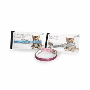 The Home Fusion Company Glitter Cat Collar [PINK]