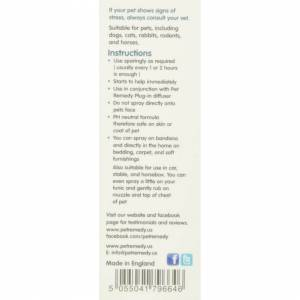 Pet Remedy Mini Calming Spray 15ml