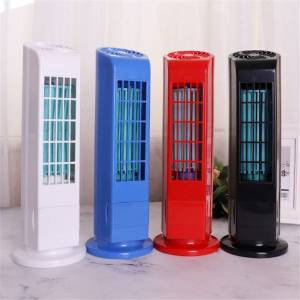WT Portable USB Cooling Air Conditioner Purifier Tower Bladeless Room Fan
