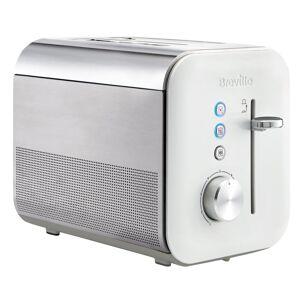 Breville VTT686 2 Slice High Gloss Toaster, White