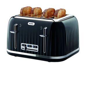 Breville VTT476 Impressions Collection 4 Slice Toaster Black