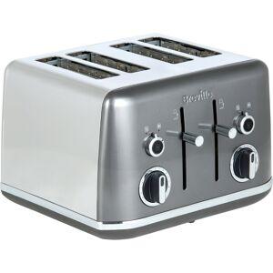 Breville Lustra Collection VTT853 4 Slice Toaster - Storm Grey
