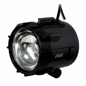 The Home Fusion Company Type S 12V Magnetic Spot Light Black Portable Cars, Boats, SUVs Roadside Repairs