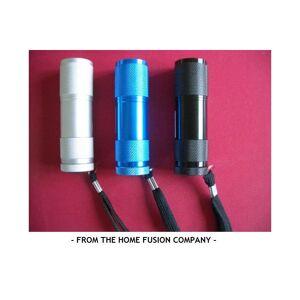 The Home Fusion Company LED Mini Pocket Bright Metal Flashlight Torch 8.5cm!