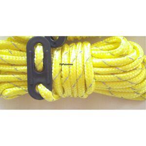 Milestone 4 Yellow High-Visibility Guylines   Tent Ropes