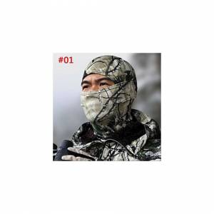 Unbranded Motorbike Cycling Military Tactical Camo Balaclava Face Neck Covers Hunting