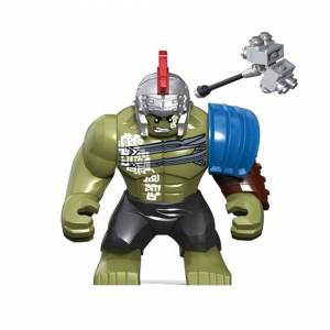 Slowmoose (0281) HULK Big Size Thor Ragnarok 3 Model Building Blocks Enlighten Figure