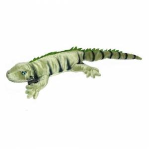 Unbranded 2ft Iguana Lizard Soft Toy Animal - Plush Cuddly Toy Suitable for all Ages (0+)