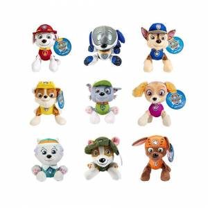 Slowmoose (15) Paw patrol plush toy Ryder Marshall Chase Skye Everest Tracker Rubble Rocky