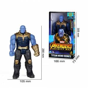 Unbranded (#1:Thanos) Avengers Hero Series Thanos Thor Action Figures