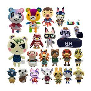 Slowmoose (20cm-Zucker) Animal Crossing Plush Toy, New Horizons Game -Amiibo Marshal Plush