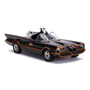 Dc Comics Batman 1966 Tv Series Classic Batmobile Die-Cast Toy Car With Bat 2532
