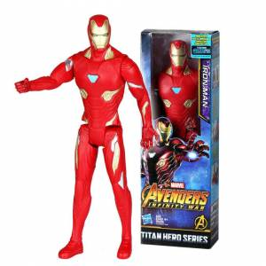 Unbranded (#5:Iron Man) Avengers Hero Series Thanos Thor Action Figures