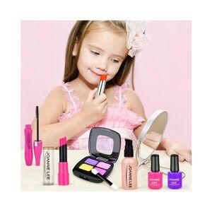 Slowmoose (STYLE 1) Girl Pretend Play Make Up Toy- Simulation Cosmetics Pink Makeup Set, P