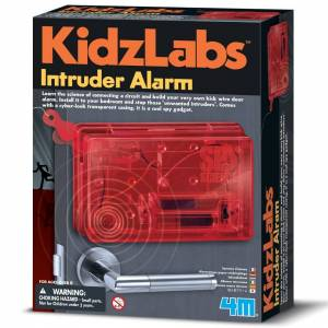 Kidz Labs Intruder Alarm - Spy Science - Kidz Labs Children's Creative Set