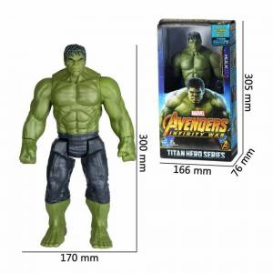 Unbranded (#2:Hulk) Avengers Hero Series Thanos Thor Action Figures