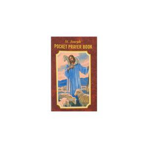 Unbranded Saint Joseph Pocket Prayer Book-20pk