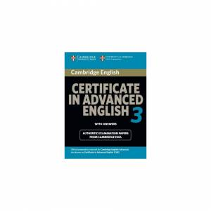 Unbranded Cambridge Certificate in Advanced English 3 for Updated Exam: Examination Papers
