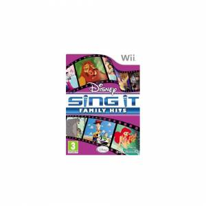 Unbranded Disney Sing It : Family Hits (Wii)