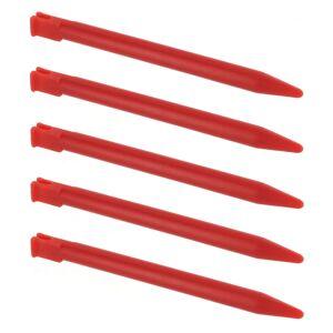 ZedLabz Stylus for 3DS Nintendo slot in touch screen pen ZedLabz - 5 pack red