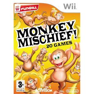 Activision Monkey Mischief Nintendo Wii Game