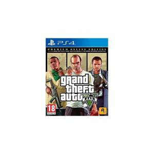 Unbranded Grand Theft Auto 5 - Premium Online Edition (PS4)
