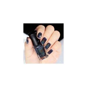watanablemarket 15 Colors Holographic Holo Glitter Nail Polish Varnish Hologram Effect Manicure