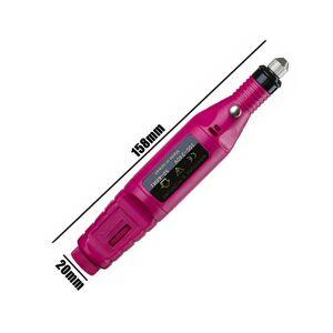 Phevoss (Black) Professional Electric Nail Drill Machine Art Acrylic File Manicure Polis