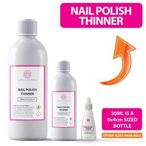 Lotus (100ml) Nail Polish THINNER - Gel Nail Varnish Thinner PREMIUM QUALITY - All Siz