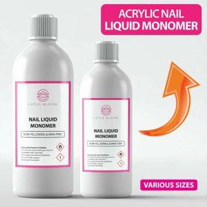 Lotus (100ml) Nail Monomer Gel Acrylic Liquid Monomer by LOTUS BLOOM - Professional Qu