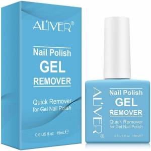 Aliver Quick Gel Nail Polish Remover - 15ml