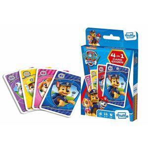 Cartamundi Shuffle Fun 4 in 1 Paw Patrol Card Game