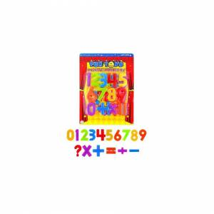 Unbranded Magnetic Numbers Childrens Kids Maths Learning Magnets Fridge Whiteboard