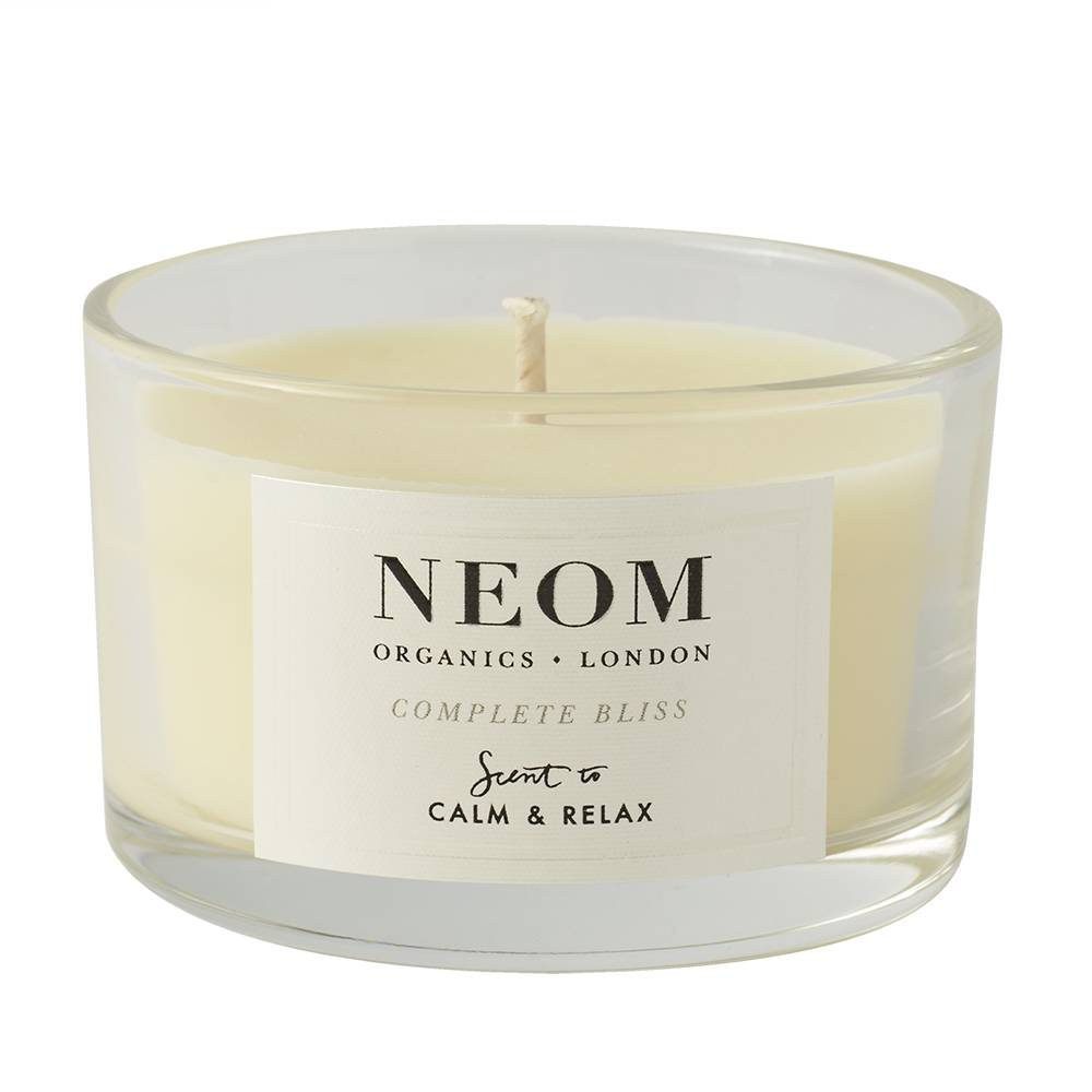 NEOM Complete Bliss Scented Candle Travel 20hrs