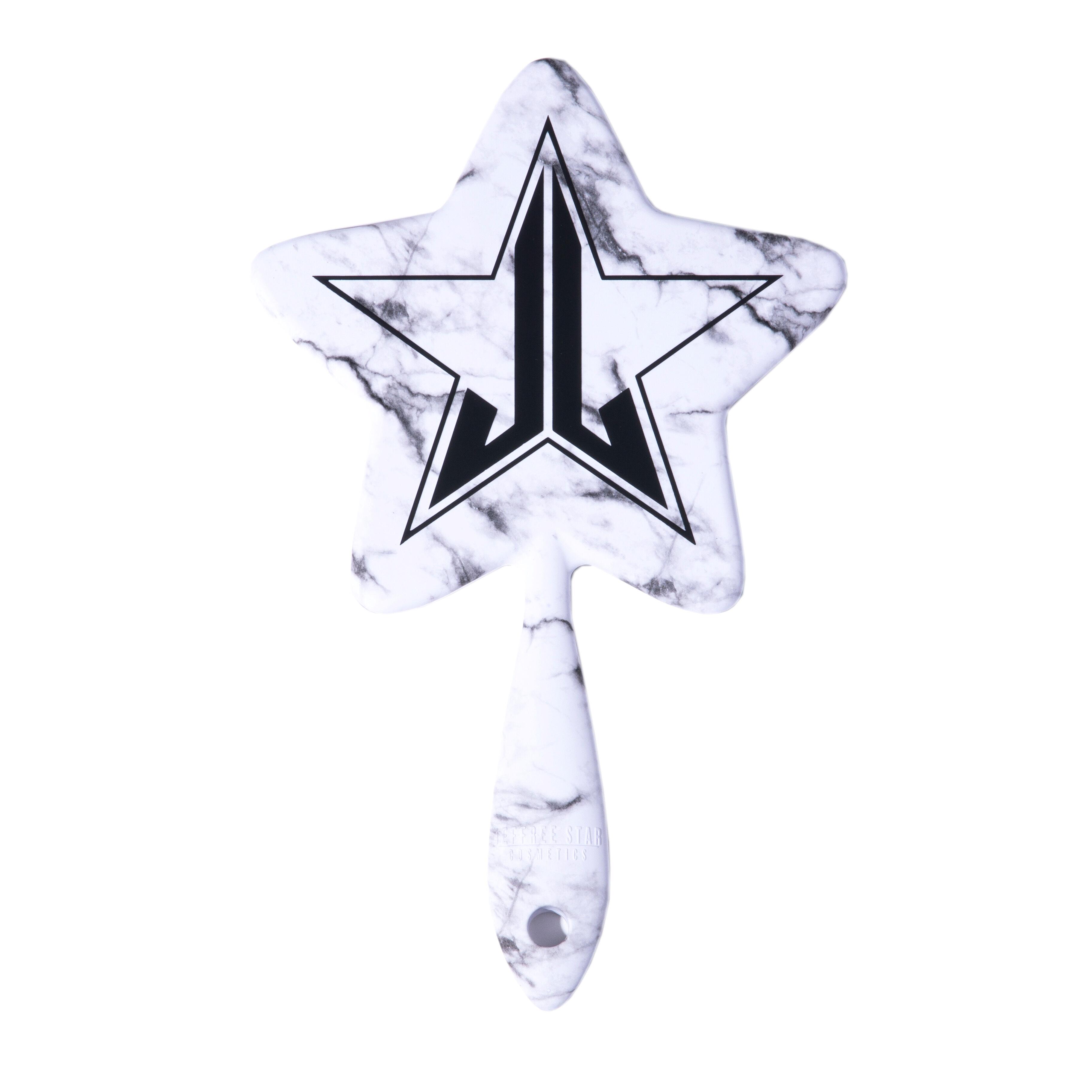 Jeffree Star Cosmetics WhiteMarble Soft Touch Hand Mirror