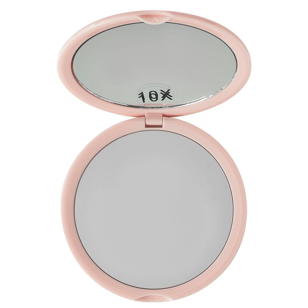 KimChi Chic Beauty Round Mirror Rosy