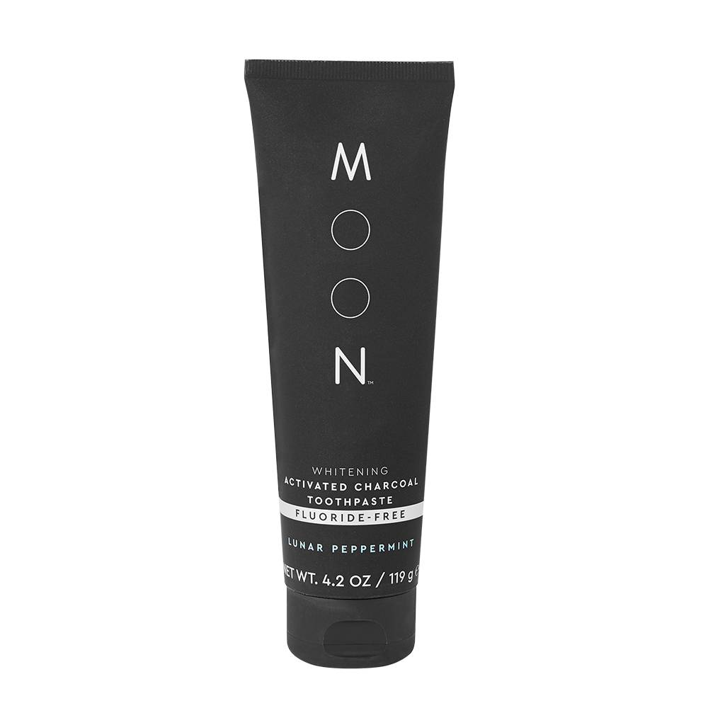 MOON Activated Charcoal FluorideFree Whitening Toothpaste
