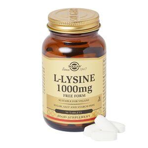 Solgar LLysine 1000 mg Tablets 50caps