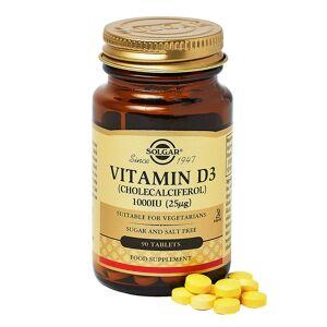Solgar Vitamin D3 1000 IU (25 mcg) Softgels 90caps