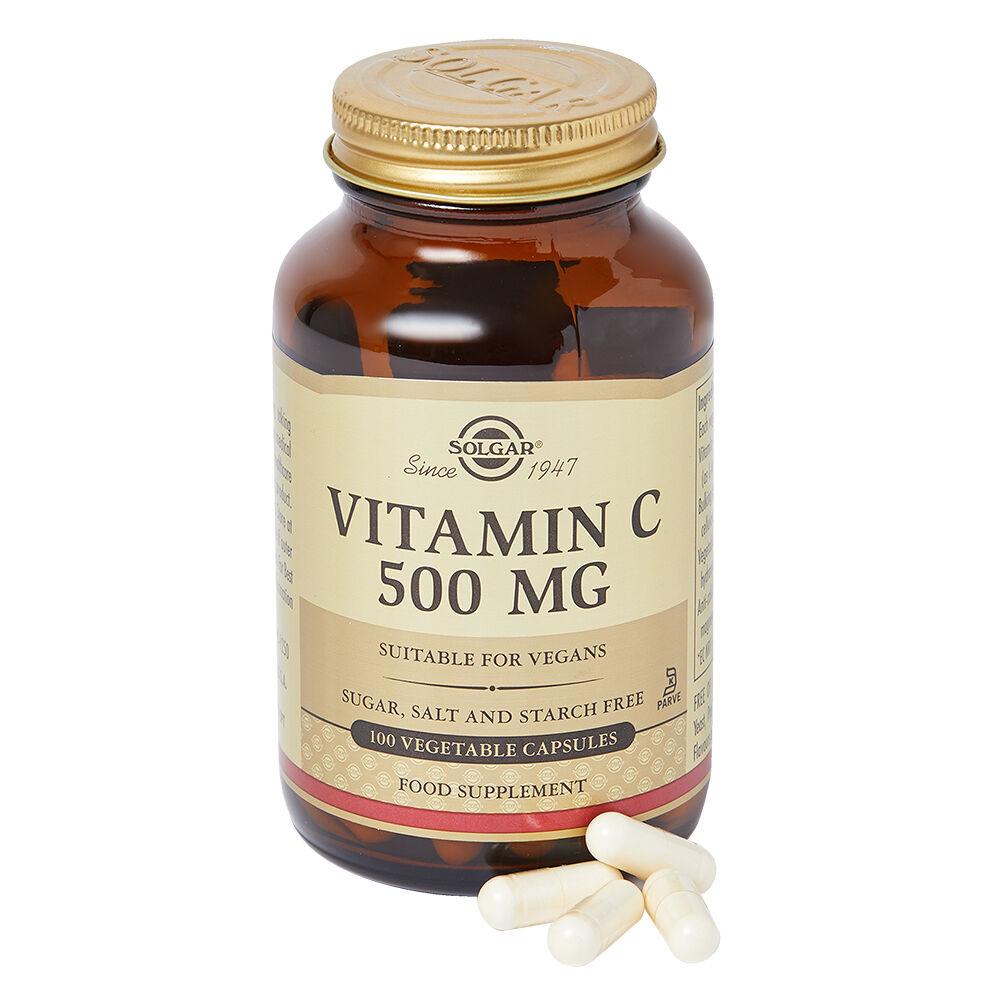 Solgar Vitamin C 500 mg Vegetable Capsules 100caps