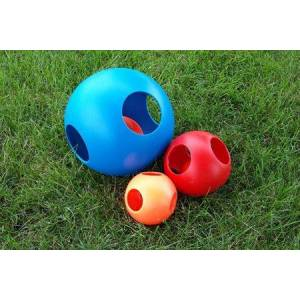 HUETER TOLEDO, INC. Paw-zzle Ball Dog Toy 10in