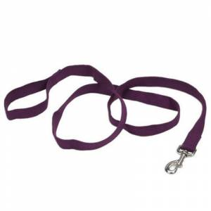 COASTAL PET PRODUCTS Personalized Soy Dog Lead Eggplant