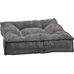 BOWSERS PET PRODUCTS Bowsers Piazza Pewter Bones Dog Bed Medium