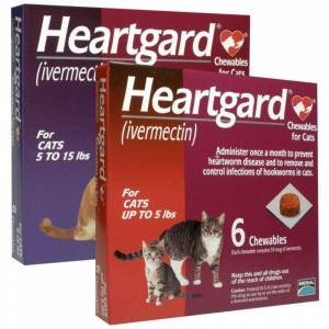 PET'S CHOICE PHARMACY Heartgard Chewables for Cats - 6 ct 5 to 15 lbs