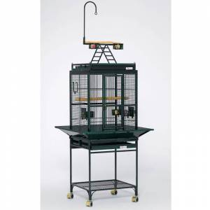 MIDWEST METAL PRODUCTS Avian Adventures Nina Playtop Bird Cage White