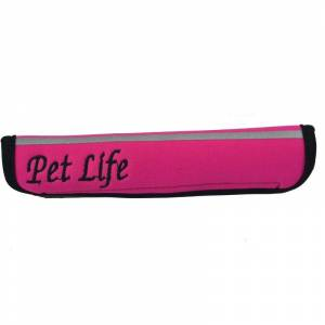 PET LIFE LLC Extreme Neoprene Joint Protect Pet Sleeves LG Pink
