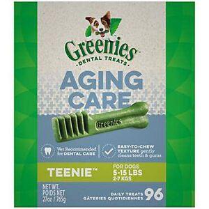 NUTRO PRODUCTS, INC Greenies Aging Care Dental Chew Treat Teenie 27oz