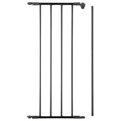 "L.A. Baby ""L.A. Baby SG-F-EXT13B BabyDan FLEX 13"""" Black Safety Gate Extension Panel"""