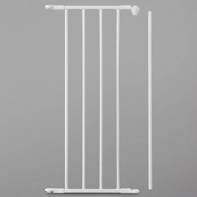 "L.A. Baby ""L.A. Baby SG-F-EXT13W BabyDan FLEX 13"""" White Safety Gate Extension Panel"""