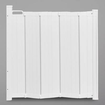 "L.A. Baby ""L.A. Baby SG-GM214-W BabyDan Guard Me 22"""" to 35"""" White Auto Retractable Safety Gate"""